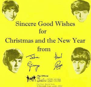 The Beatles 1963 Christmas record