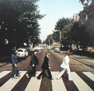 The first Abbey Road photo