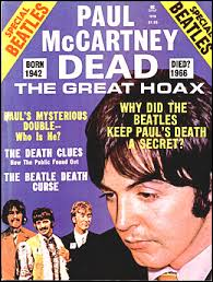 The cover of a mag on the Paul is dead rumour