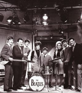 The Beatles with Dusty Springfield, Eden Kane, Keith Fordyce, and Helen Shapiro on Ready Steady Go