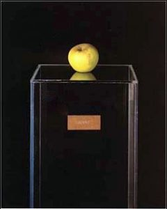 The Apple on a stand from the Indica Art Gallery