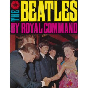 The commemorative booklet to celebrate the Beatles performance