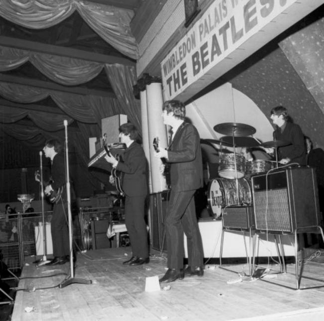The Beatles at the Wimbledon Palais 1963