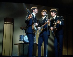 The Beatles singing 'This Boy' at the London Palladium 1964