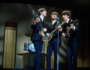 The Beatles singing 'This Boy' at the London Palladium 1964