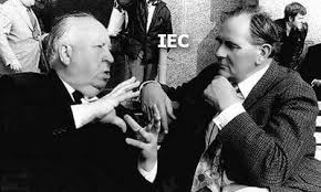 Gilbert Taylor with Alfred Hitchcock