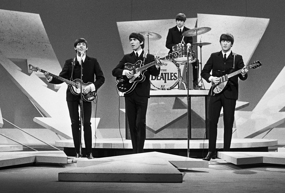 The Beatles on the Ed Sullivan Show 9th February 1964