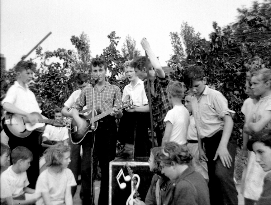The Quarrymen at St Peter's Church Fete - 6th July 1957