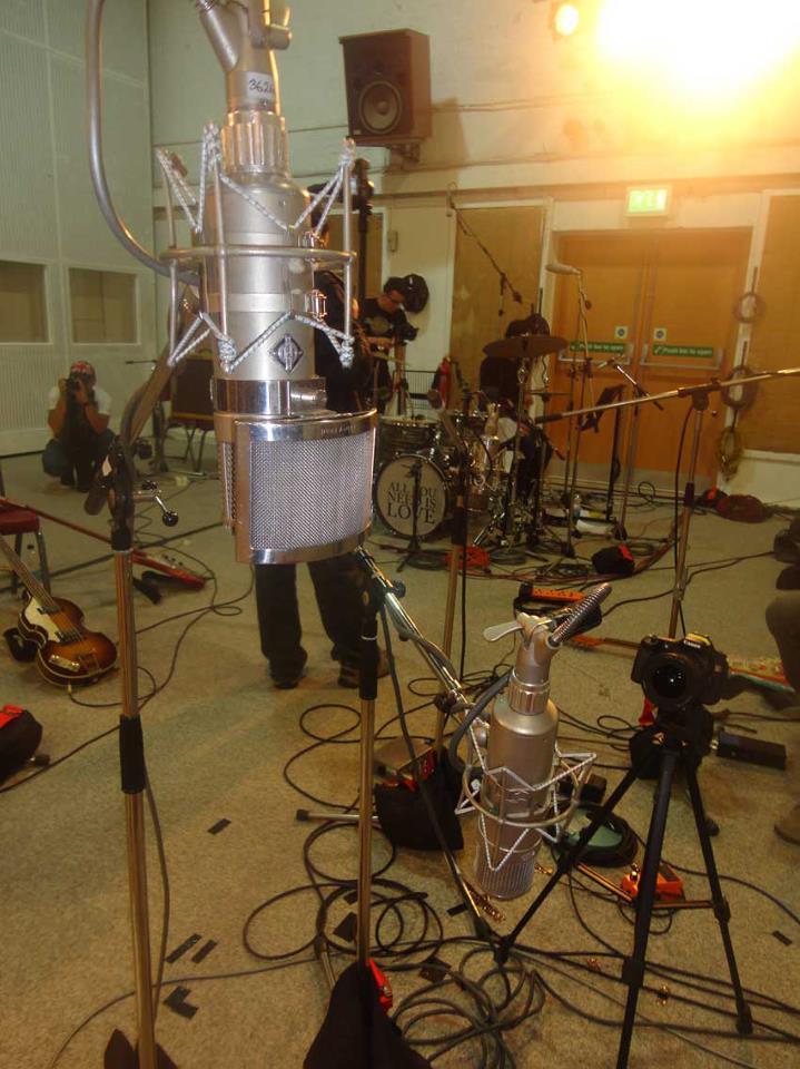 Inside Studio 2 at Abbey Road Studios