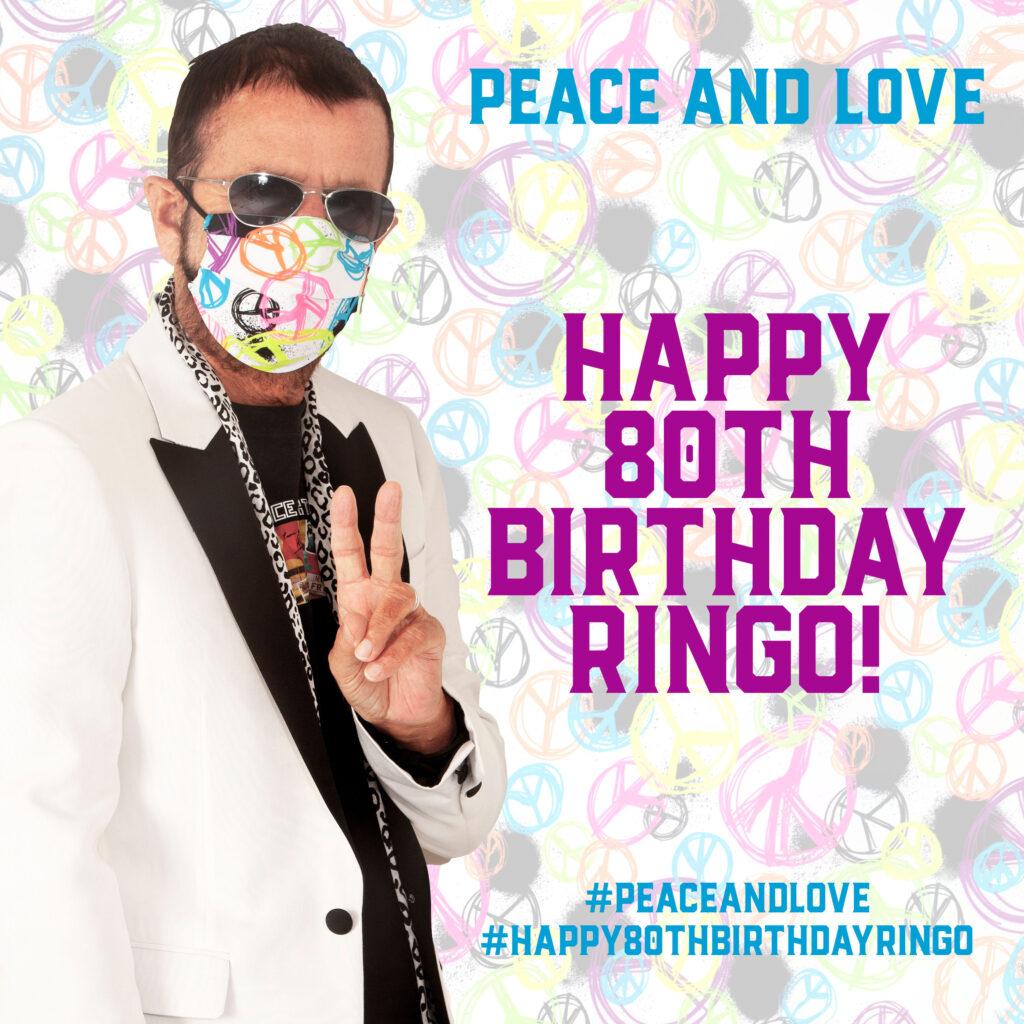 #Happy80thBirthdayRingo