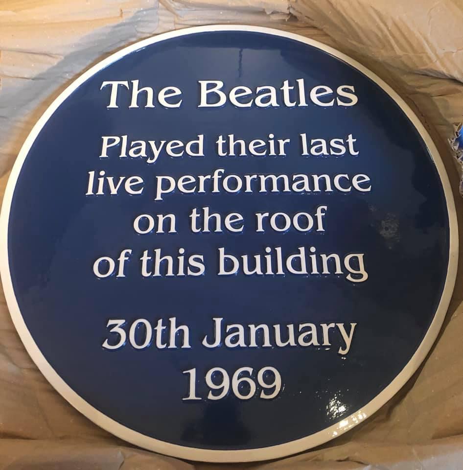 Beatles at Savile Row London