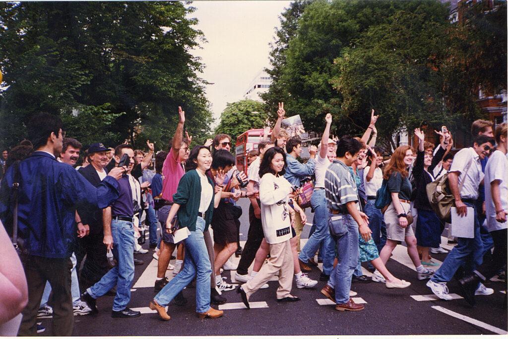 Beatles in London timeline