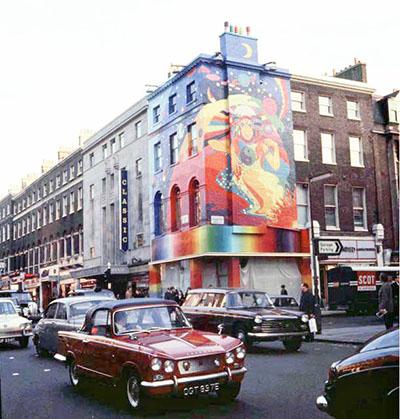 The Beatles Apple Shop in Baker Street, London