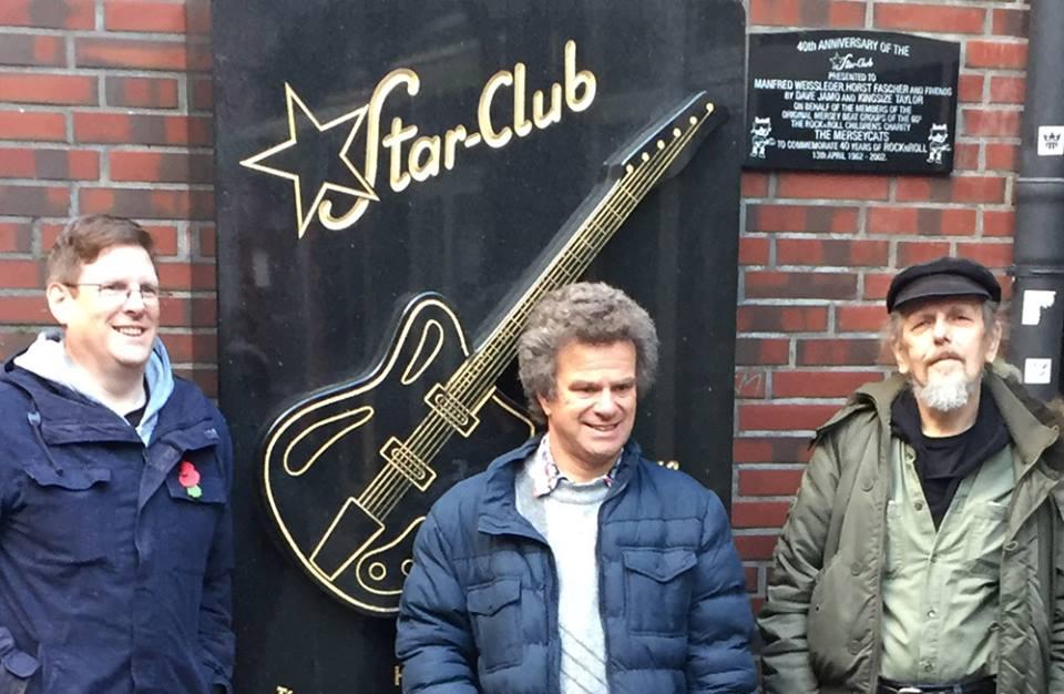 Beatles expert Richard Porter in Hamburg on Beatles tour