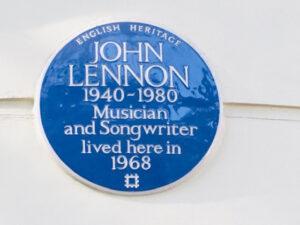 John Lennon in London