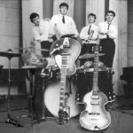 The Beatles at Abbey Road Studios 1962