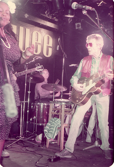 Alexis Korner at the Marquee Club, London
