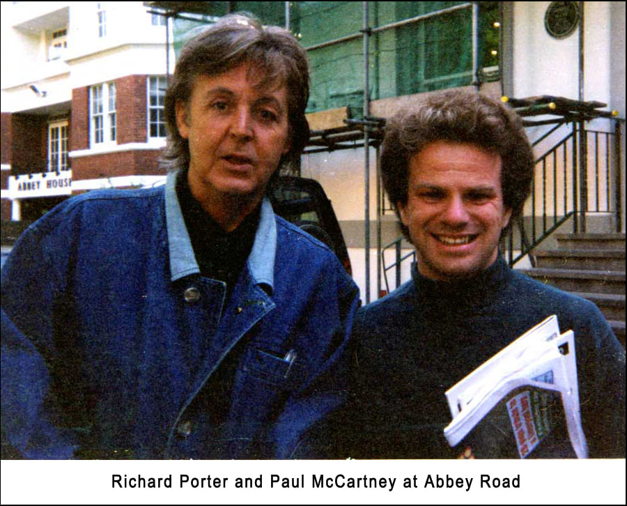 Richard Porter and Paul McCartney