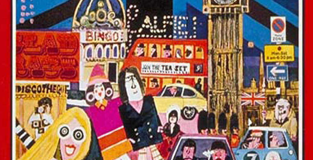 Rock'n'roll London virtual tour