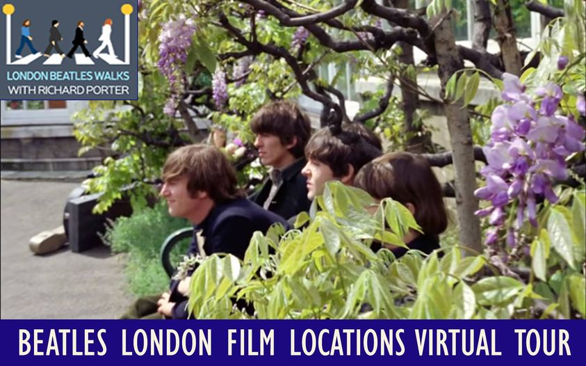 Beatles London FIlm Locations