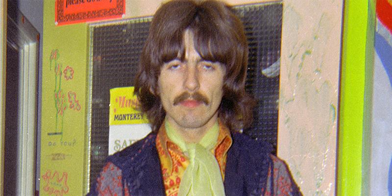 George Harrison in London