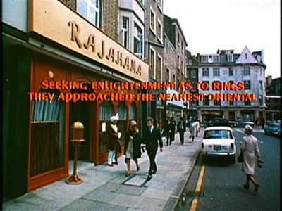 Rajahama restaurant in Beatles movie Help