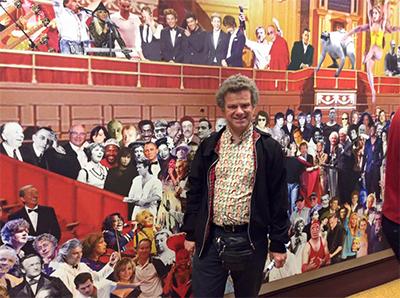Richard Porter at Albert Hall
