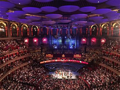 Inside Albert Hall