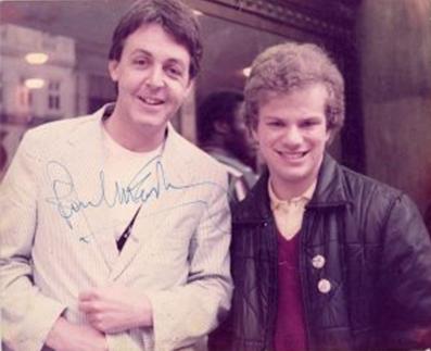 Paul McCartney with Richard Porter