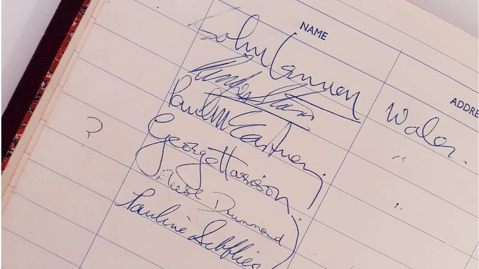 Beatles Birmingham Autographs