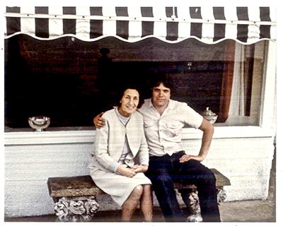 David Stark and John' Aunt Mimi