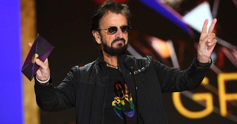 Ringo Starr at Grammys
