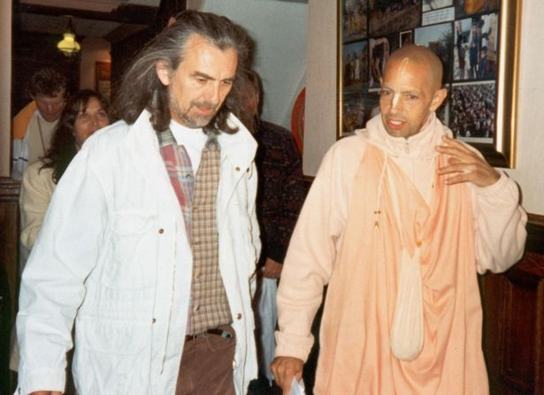 George Harrison at Bhaktivedanta Manor
