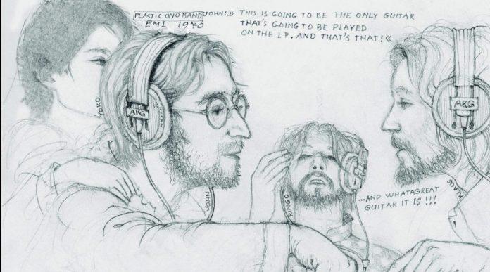 Klaus Voorman, John Lennon, Plastic Ono Band,