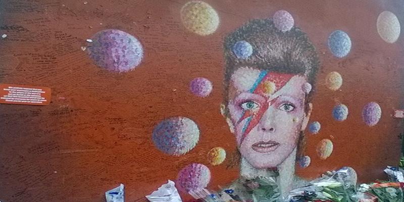 David Bowie in London