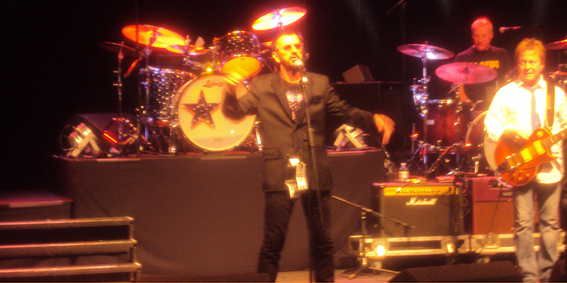 Ringo Starr in London online tour