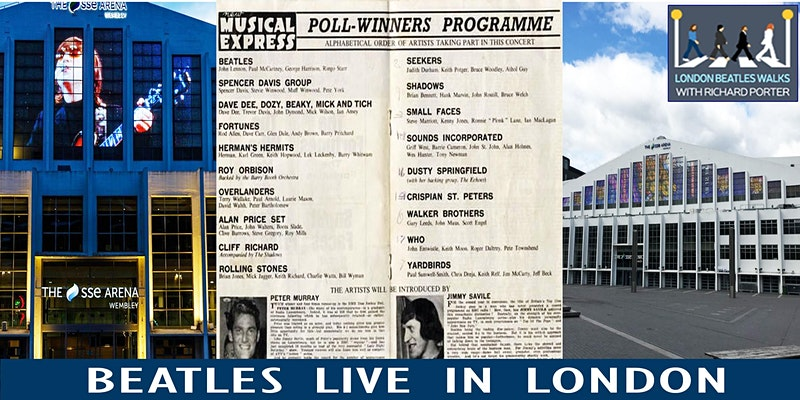 The Beatles Live in London Virtual Tour