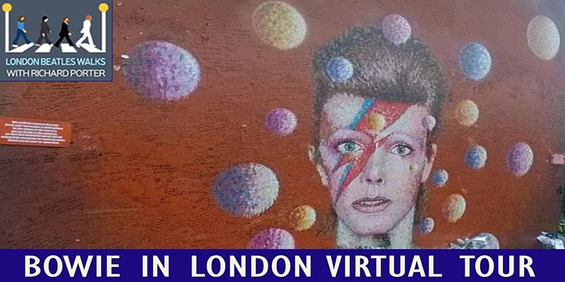David Bowie in London Virtual Tour
