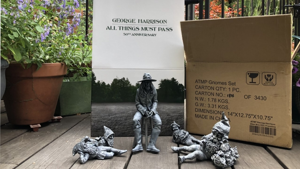 Gnomes with George Harrison All Things Must Pass